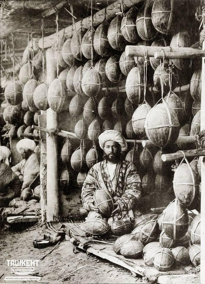 Продавец дынь
