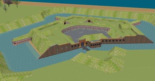 Балтийск, форт Западный - 3D.jpg