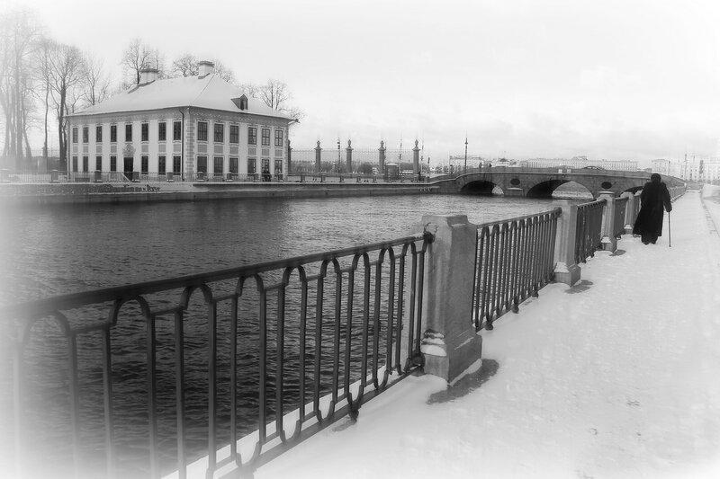 Прогулки по Петербургу...в тишине...