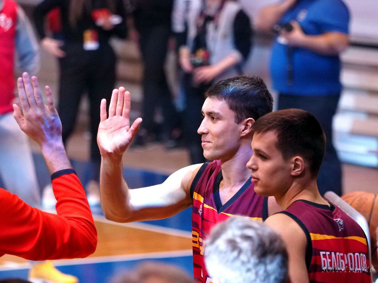 97 Матч звезд АСБ 2018 (ассоциации студенческого баскетбола)