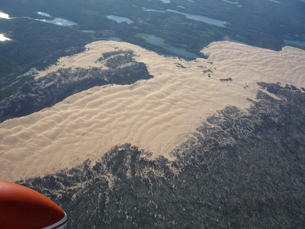 Песчаные дюны в тайге - уникальная геологическая странность