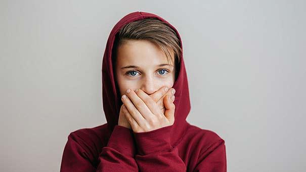 дети не делятся секретами