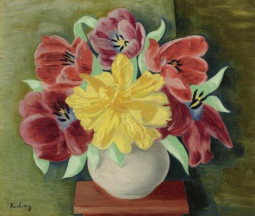 Цветы. 1943. 46.2 х 55.2 см. масло, холст. Частная коллекция.jpg