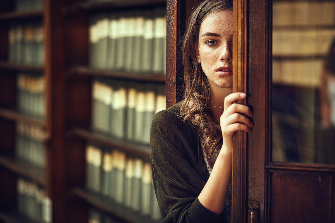 В библиотеке / фото Ярослав Мончак