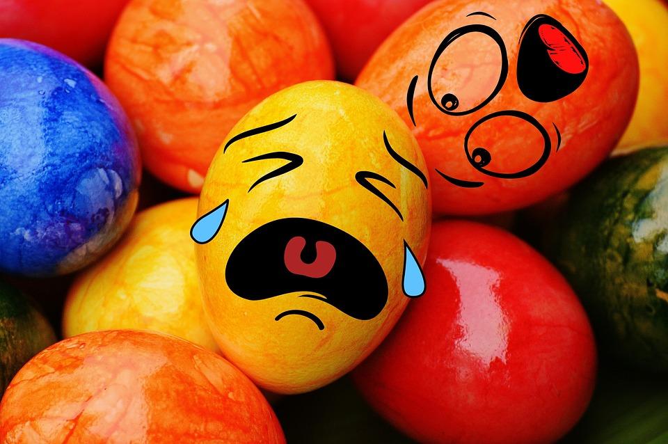 Всемирный день яйца. Плачущие яйца