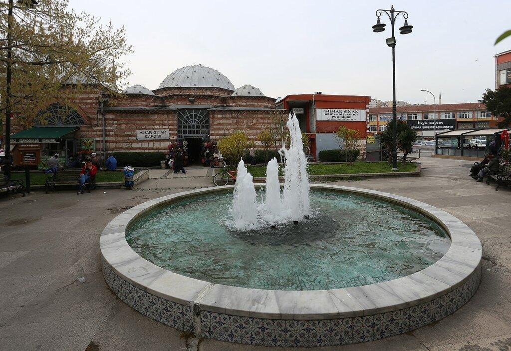 Стамбул. Рынок Мимар Синан (Mimar Sinan Çarşısı)