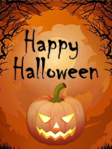 Happy Halloween Splendidi Auguri Di Immagine - Gratis, belle dal vivo auguri