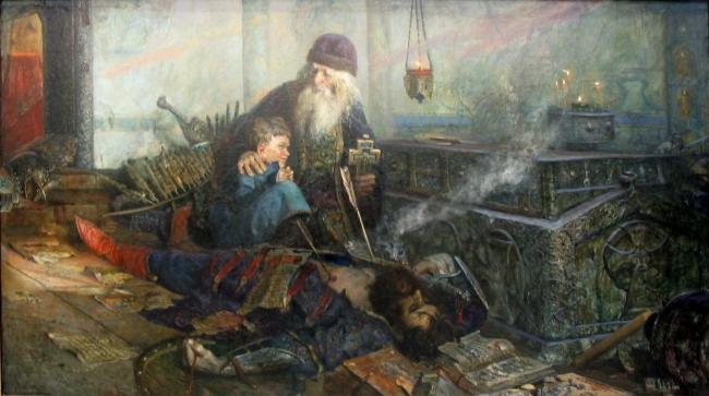 Павел Рыженко.  Смутное время