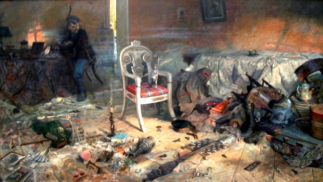 Рыженко П.В. Ипатьевский дом после цареубийства