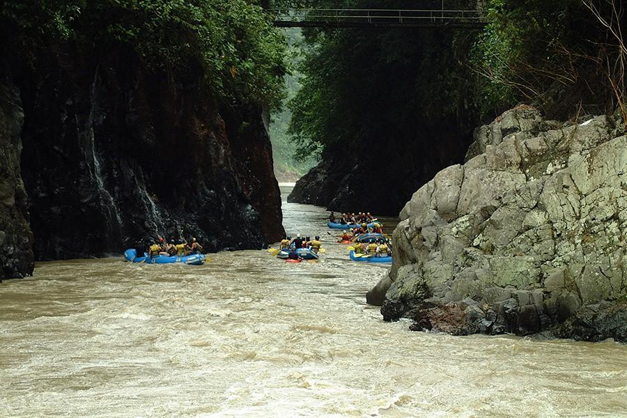 48. Исследуйте Коста-Рику, сплавляясь по рекам Долина Пакуаре и полуостров Осса — одни из немногих м