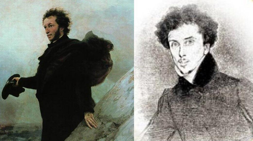 Пушкин и Дюма   Пушкин и Дюма почти ровесники: первый родился в 1799 году, второй — в 1802-м. Е