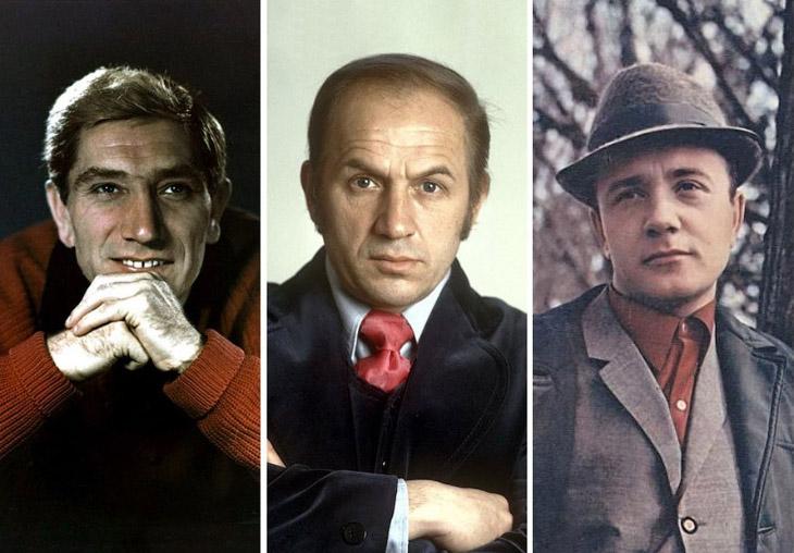 Самые снимаемые советские актёры (35 фото)