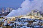 Екатеринбург, рассвет 1 января 2018г.