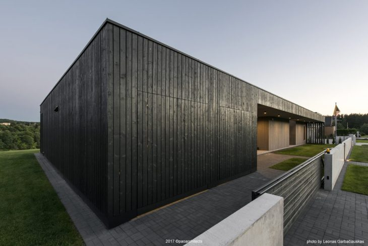 The Black Box House by Pao Architects