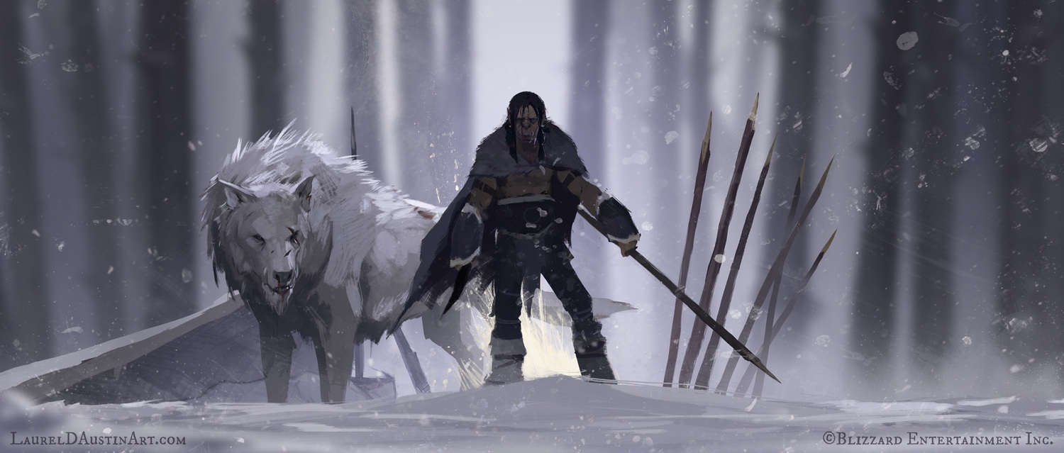 'Lords of War: Durotan' Illustrations by Laurel D. Austin