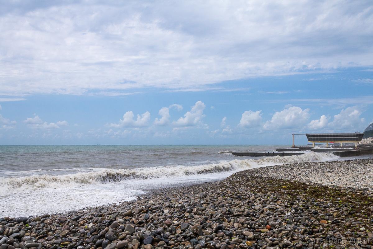 сочи черное море шторм фото 1