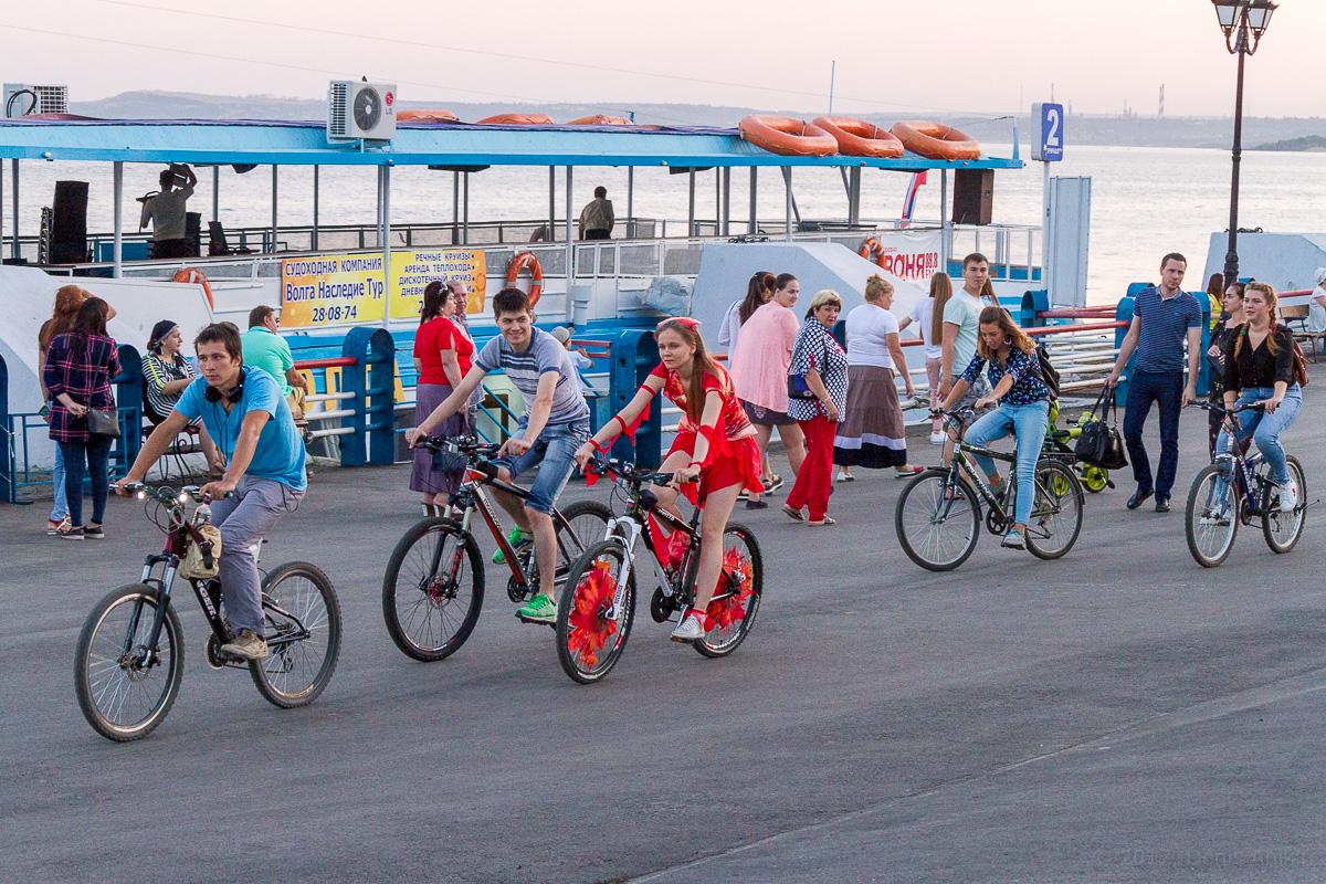 велопарад Леди на велосипеде фото 8