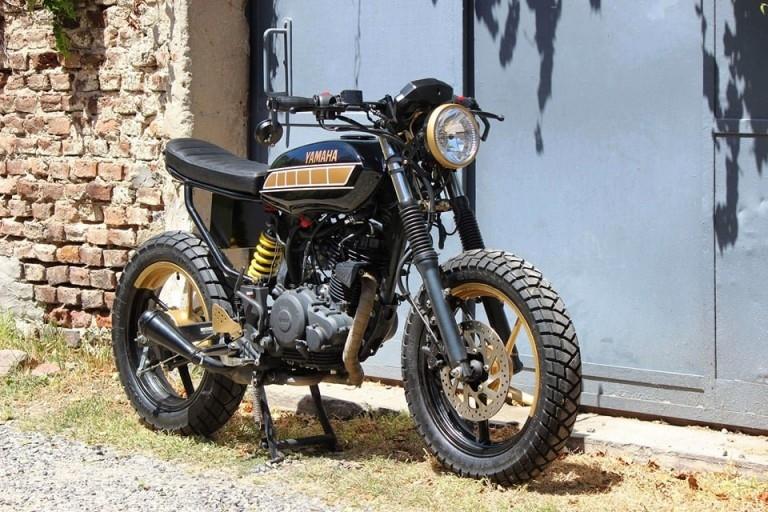 Lino Motos Custom: стрит-трекер Yamaha FZ16