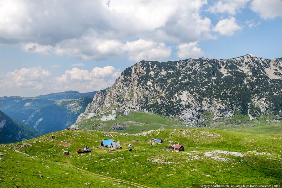 Парк Дурмитор, Черногория