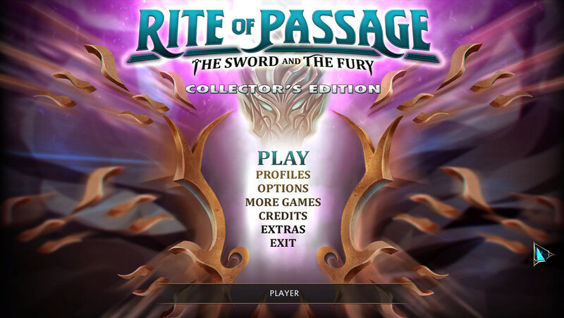Rite of Passage: The Sword and the Fury CE