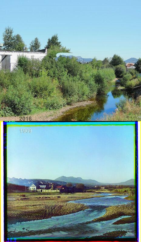 Селение Ветлуга. Река Тесьма. Близ Златоуста.