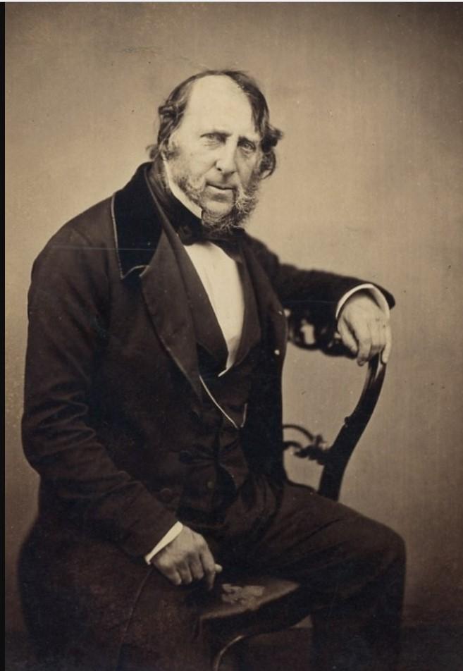 1850. Джордж Круикшанк (1792-1878), карикатурист и иллюстратор