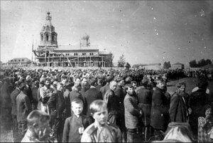 Базарная площадь. 1914