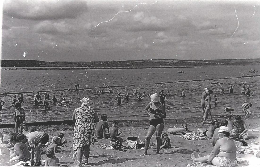Пляж КамГЭС