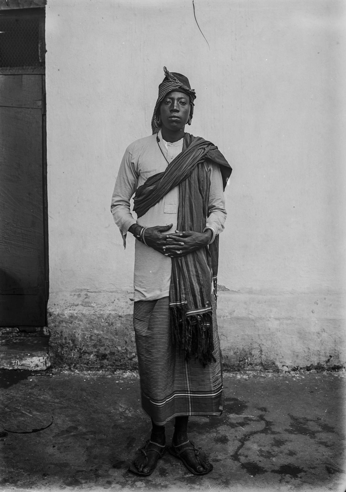 179. Портрет одного из вождей чагга