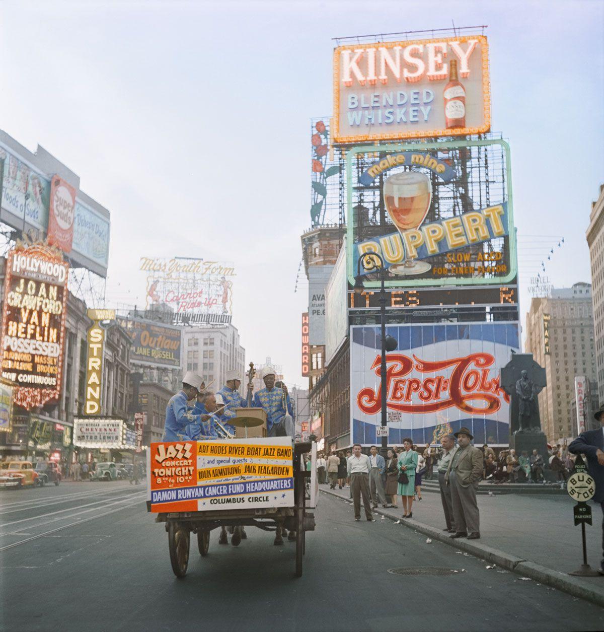 1947. Таймс-сквер, Нью-Йорк
