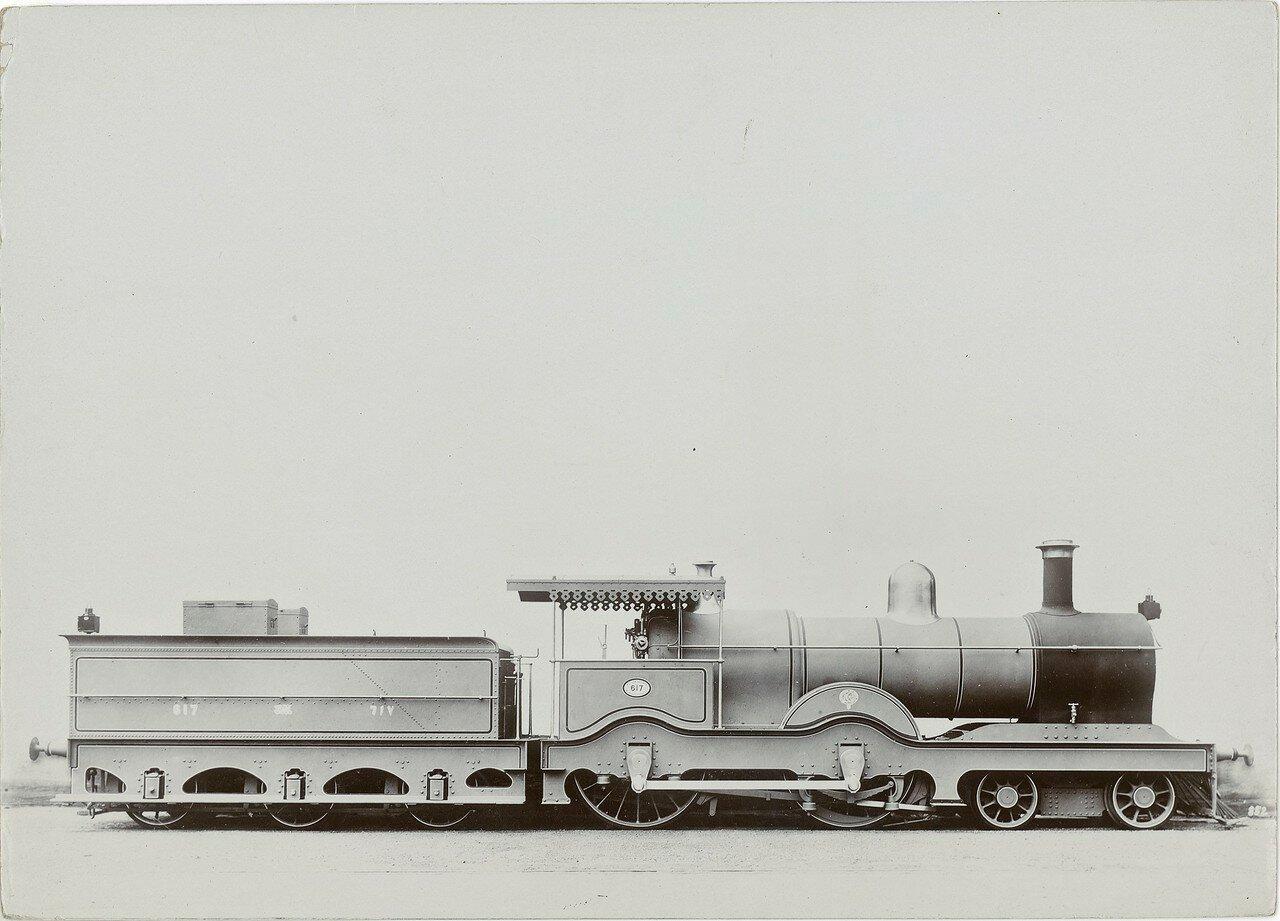 1900-1920. Локомотив компании «The Locomotive Publishing Co. Ltd»