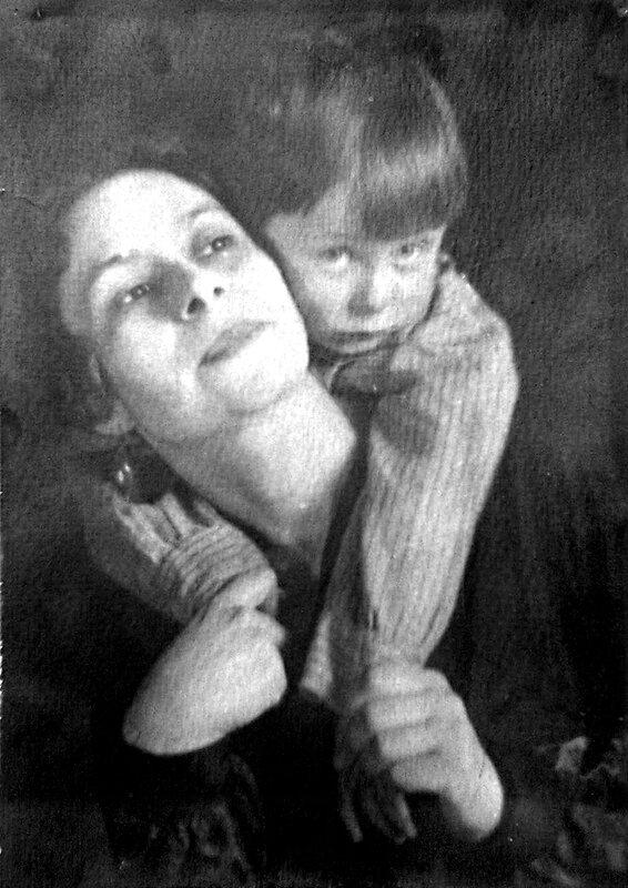 Саконская с сыном (А.Соколовским)