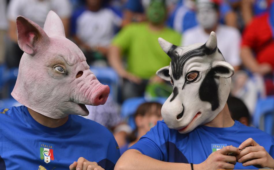 Евро 2012, как болеют мужики!