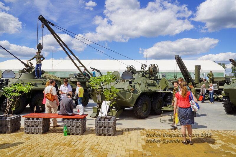 БРЭМ-К, Форум Армия-2015, парк Патриот