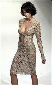Sexy ажур в платье (костюме) от Jasper Conran Наши воплощения
