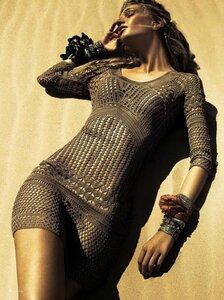 Утомленная солнцем - туника-платье от Le Lis Blanc крючком Наши воплощения