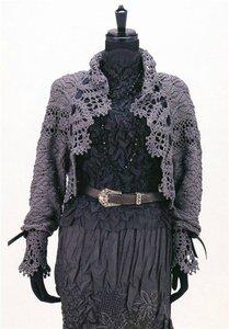 Графиня Де Болеро - сумерки в ажуре - крючок и спицы