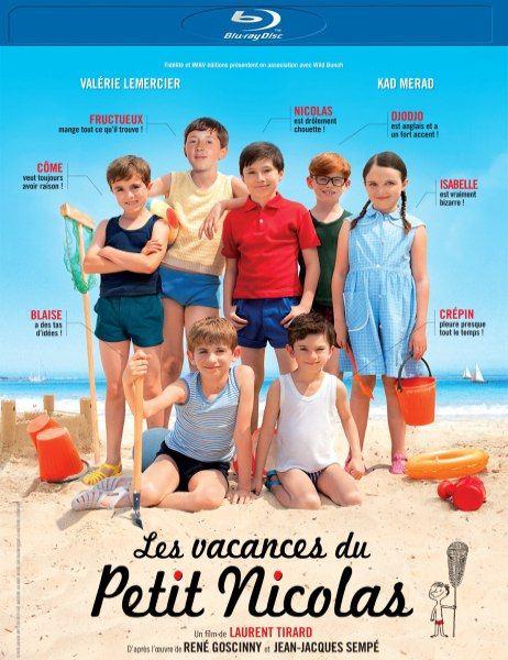 Каникулы маленького Николя / Les vacances du petit Nicolas (2014/BDRip/1080p/720p/HDRip/1400Mb/700Mb)