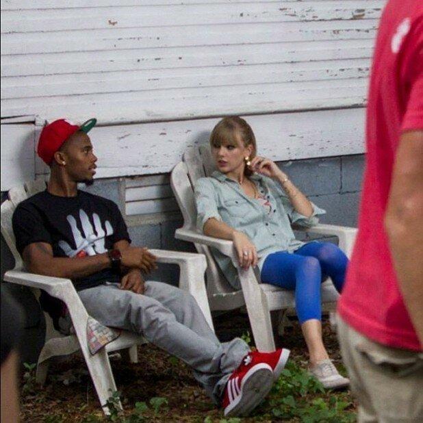 B.o.B и Тейлор Свифт снимают общий клип