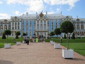 Тур выходного дня, достопримечательности Екатерининского парка в Пушкине - Екатерининский дворец