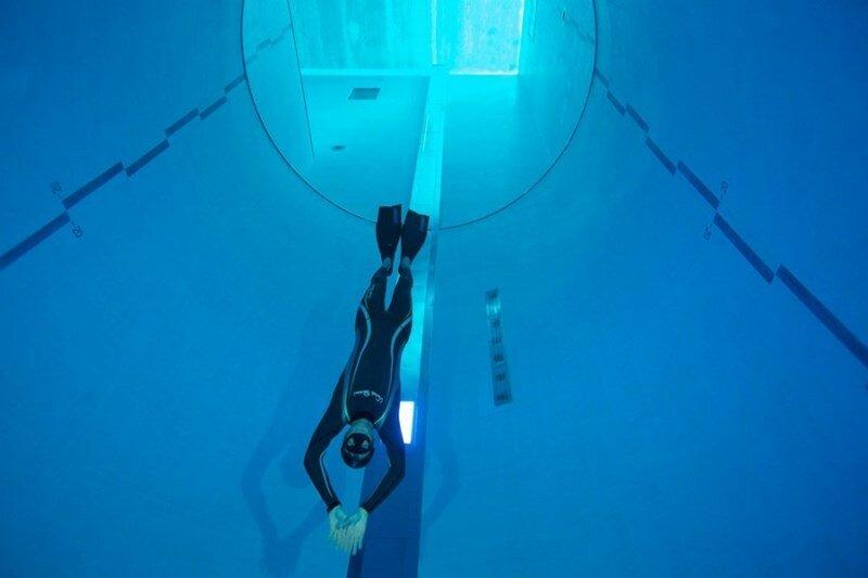 Самый глубокий бассейн в мире
