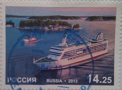 2013 рос-финляндия пассажирский паром 14.25