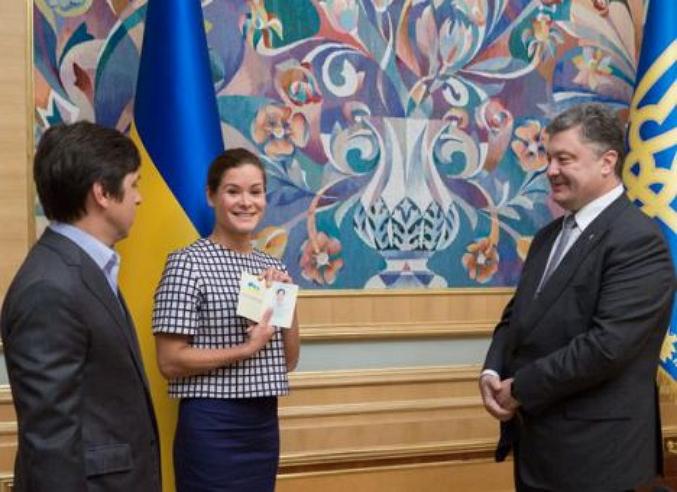 Мария Гайдар получила гражданство государства Украины