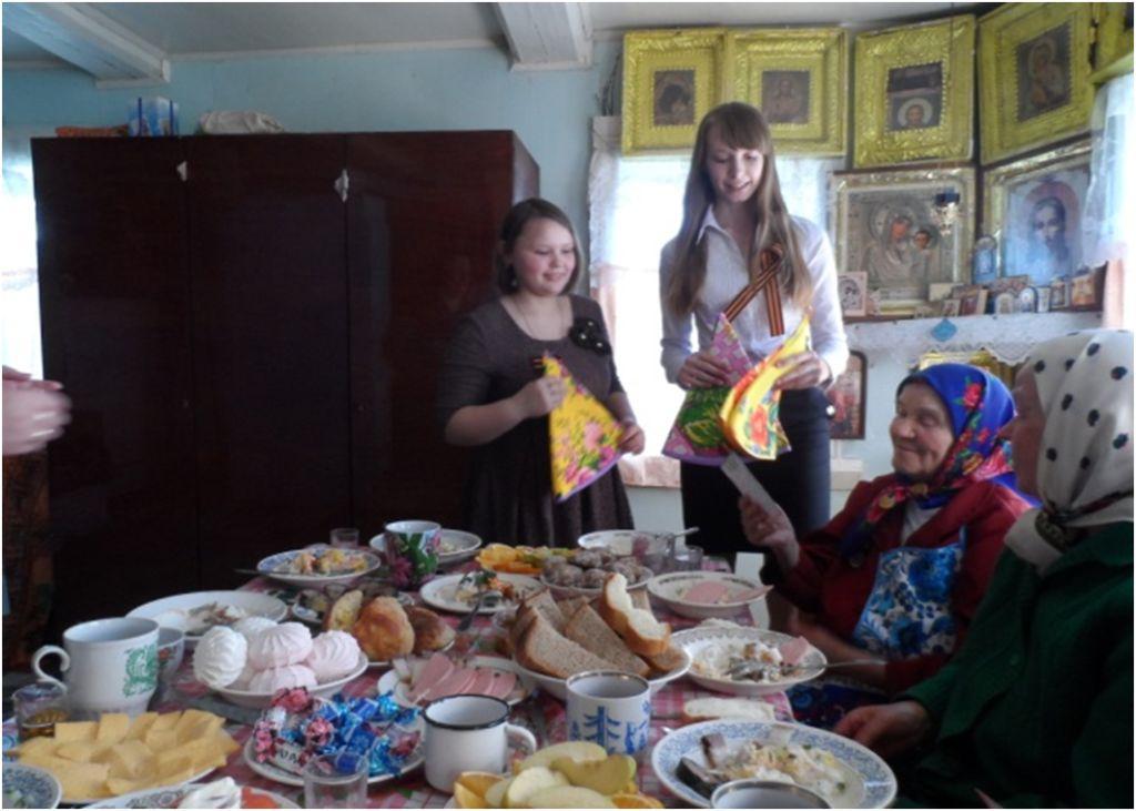 Отчет о работе центра к 70-летию Победы