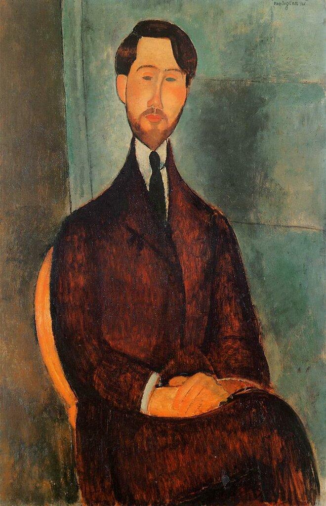 Leopold Zborowski - 1919 - Museu de Arte Moderna de Sao Paulo. Painting - oil on canvas.jpeg