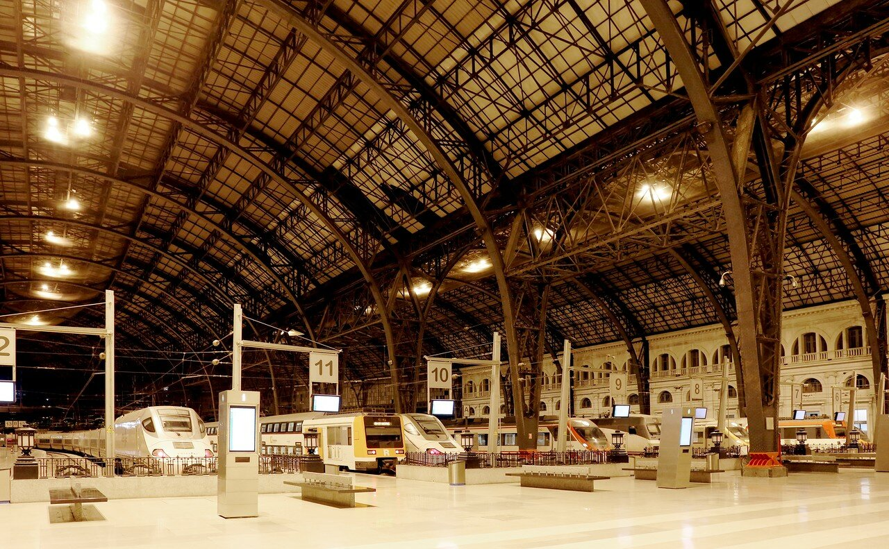 Барселона. Французский вокзал (Estació de França)
