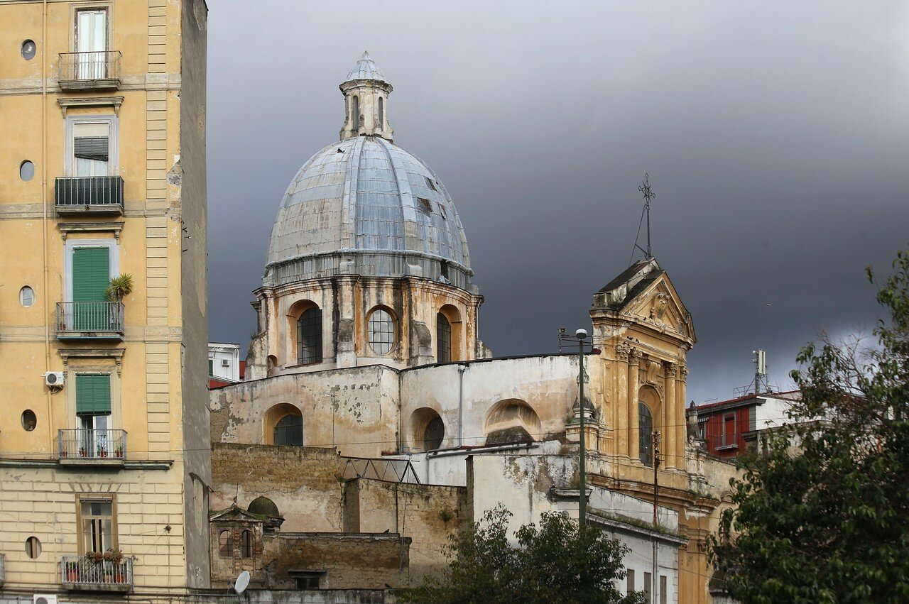 Неаполь. Церковь Святой Анны у Капуана (Chiesa di Sant'Anna a Capuana)