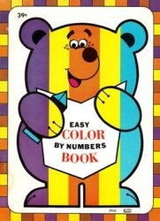 Книга Easy Color by Numbers Book