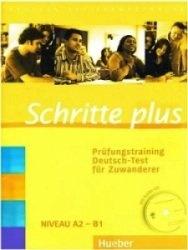 Аудиокнига Schritte plus. Prüfungstraining Deutsch-Test für Zuwanderer