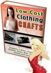 Книга Low Cost Clothing Craft (Недорогая одежда ручной работы)